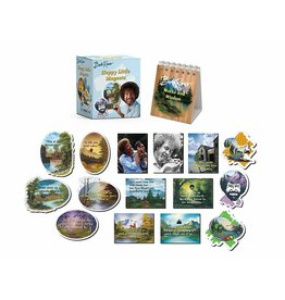 Hachette Book Group Bob Ross: Happy Little Magnets