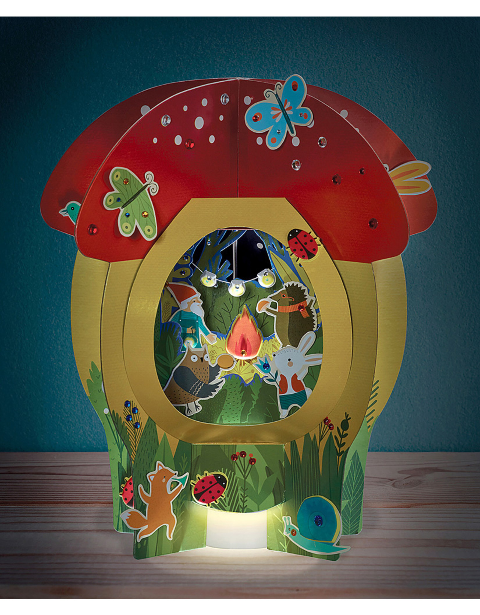 Bright Stripes DIY Lantern Lands - Forest Festival