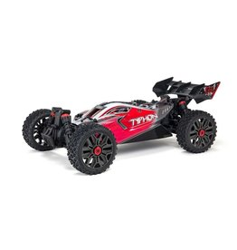 Arrma 1/10 Typhon 3S BLX V3 4WD Brushless Buggy RTR - Red