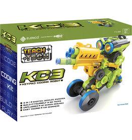 Elenco Teach Tech KC3 Keypad Coding Robot