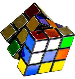 Winning Moves Rubik's 40th Anniversary - Metallic