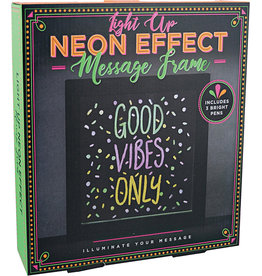 Iscream Light Up Neon Effect Message Frame