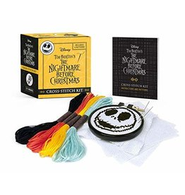 Hachette Book Group The Nightmare Before Christmas Cross-Stitch Kit