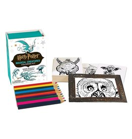 Hachette Book Group Harry Potter Magical Creatures Coloring Kit