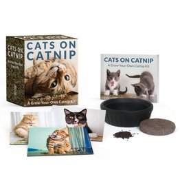 Hachette Book Group Cats on Catnip: A Grow Your Own Catnip Kit