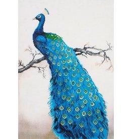 Diamond Dotz Blue Peacock - Facet Art Kit