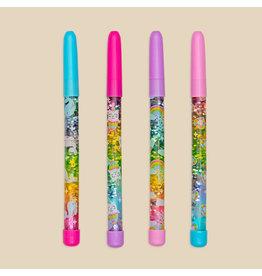 Ooly Rainbow Glitter Wand Ballpoint Pen - Random Color
