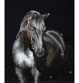 Diamond Dotz Midnight Stallion - Facet Art Kit