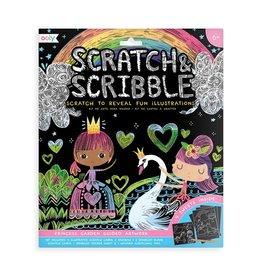 Ooly Scratch & Scribble Princess Garden