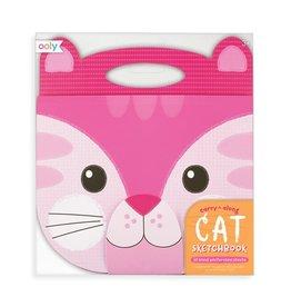 Ooly Carry Along Sketchbook - Cat  (3)