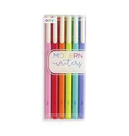 Ooly Modern Writers Colored Gel Pens (6)