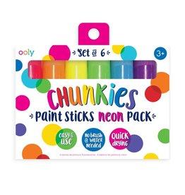 Ooly Chunkies Paint Sticks Neon