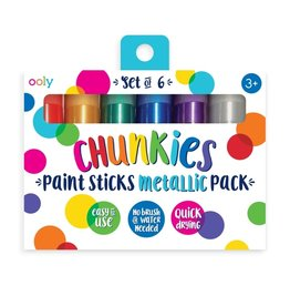Ooly Chunkies Paint Sticks Metallic