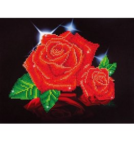 Diamond Dotz Red Rose Sparkle - Facet Art Kit