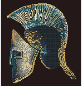 Diamond Dotz Spartan Helmet - Facet Art Kit