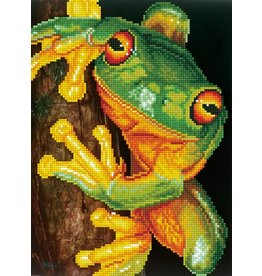 Diamond Dotz Green Tree Frog - Facet Art Kit