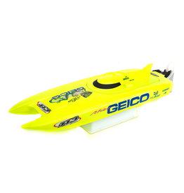 "Pro Boat Miss Geico 17"" Brushed Catamaran RTR"