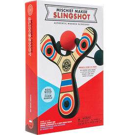 123 Beyond Mischief Maker Slingshot- Classic Red