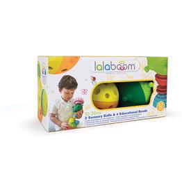 Janod Lalaboom  2 Sensory Balls & Beads - 12pcs