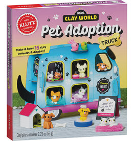 Klutz Mini Clay World - Pet Adoption Truck