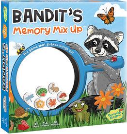 Peaceable Kingdom Bandit's Memory Mix Up Game