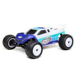 Losi 1/18 Mini-T 2.0 2WD RTR Brushless Stadium Truck - Blue