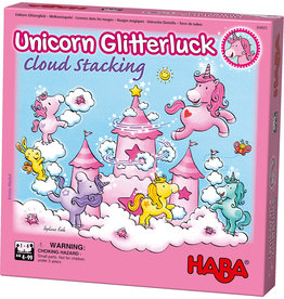 Haba Unicorn Glitterluck- Cloud Stacking