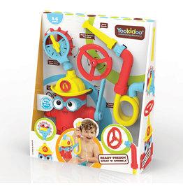 Yookidoo Ready Freddy Spray 'n' Sprinkle Bath Toy