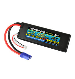 Common Sense RC 3S7600-755 - 11.1V 7600mAh 75C Hardcase Lipo Battery with EC5 Connector