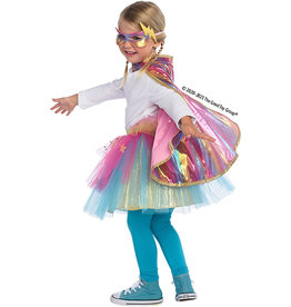 Great Pretenders Super Duper Tutu with Cape and Mask (Size 4-6)