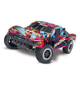Traxxas 1/10 Nitro Slash 2WD Short Course Truck w/TSM - Hawaiian