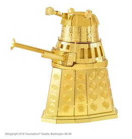Fascinations Metal Earth - Dr. Who Gold Dalek