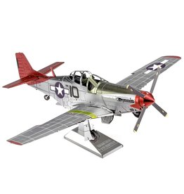 Fascinations Metal Earth - P-51D Mustang - Tuskegee Airmen ICX
