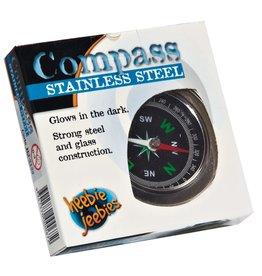 Heebie Jeebies Stainless Steel Compass