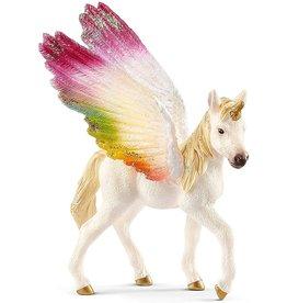 Schleich 70577 - Winged Rainbow Unicorn Foal
