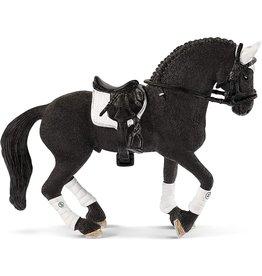 Schleich 42457 - Frisian Stallion Riding