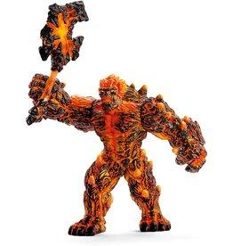 Schleich 42447 - Lava Golem with Weapon
