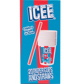 Iscream ICEE Cup and Straws