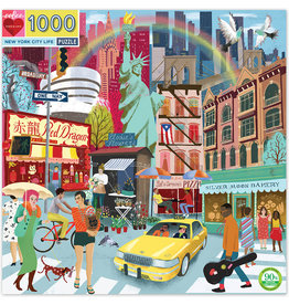Eeboo New York City Life - 1000 Piece Puzzle