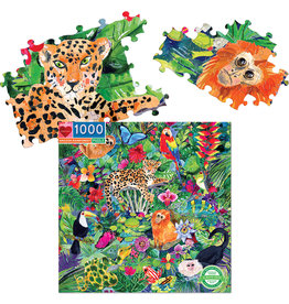 Eeboo Amazon Rainforest - 1000 Piece Puzzle