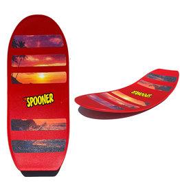Spooner Freestyle Spooner Board - Red