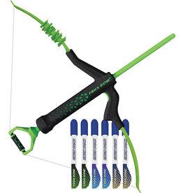 Marky Sparky Faux Bow 4.0 Lizardite - Black/Lime