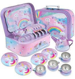 Jewelkeeper 15 PC Cotton Candy Tea Set