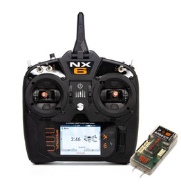 Spektrum SPM6775 - NX6 6 Channel Radio System w/ AR6610T Receiver