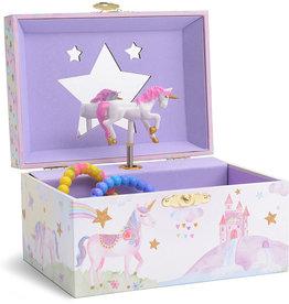 Jewelkeeper Rainbow Unicorn Musical Jewelry Box