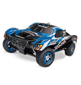 Traxxas 1/10 Slayer Pro 4X4 Nitro Short Course Race Truck - Blue