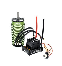 Castle Creations CSE010016501 - 1/6 Mamba Monster X 8S WP ESC 2028-800Kv Sensored Motor