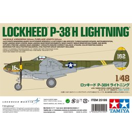 Tamiya 25199 - 1/48 Lockheed P-38 H Lightning - Limited Edition