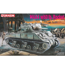 Dragon Models 6041 - 1/35 M4A4 w/60lb Rocket