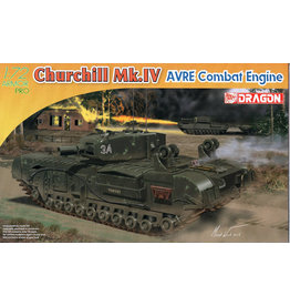 Dragon Models 7521 - 1/72 Churchill Mk.IV AVRE Combat Engine